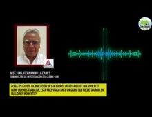|27.05.2019| Ing. Fernando Lázares sobre impacto de posible sismo en San Isidro